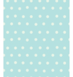 Blue polka seamless vector