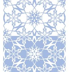 Snowflakes seamless texture 02 vector