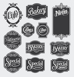 Calligraphy signs vector