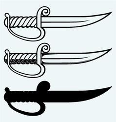 Asian dagger vector