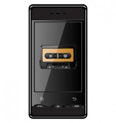 Cellular phone vector
