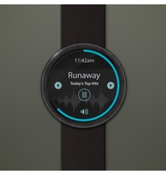 Smartwatch mockup vector