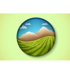 Icon of pure nature vector