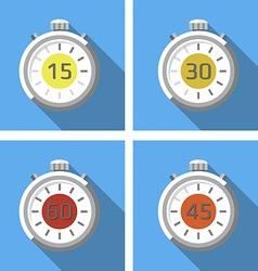Stopwatches vector
