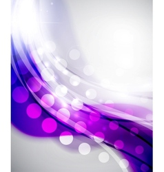 Colorful abstract wave backgrounds vector