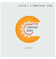 Creative letter c icon abstract logo design vector