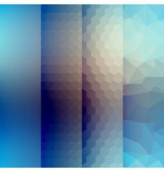 Abstract geometric backdrop with different vector
