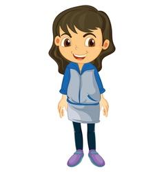 A girl vector