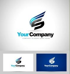 Letter s logo design vector