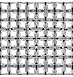 Abstract geometric monochrome pattern with unusual vector