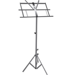 Empty music stand vector