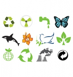 Ecology logo vector