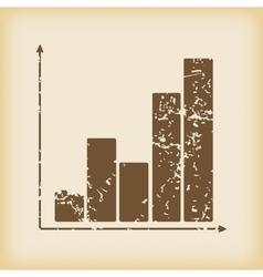 Grungy graphic icon vector