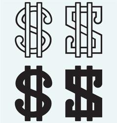 The dollar sign vector