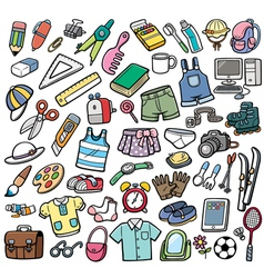 Different objects vector