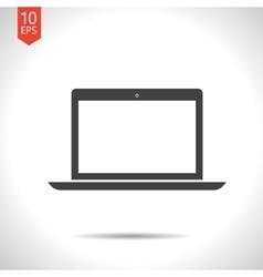 Laptop icon eps10 vector