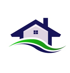 House estate logo design element vector
