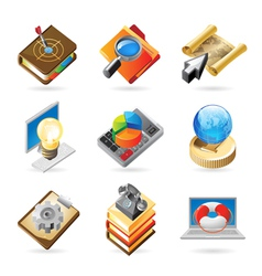 Icon concepts for work vector