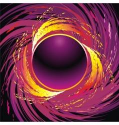 Fire circle vector
