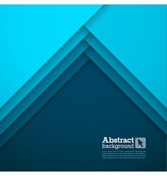 Abstract background with blue layers vector