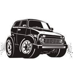 Cartoon off-road vehicle vector