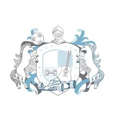 Man emblem vector