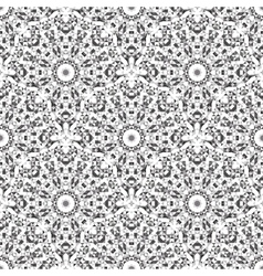 Black and white color geometric pattern vector