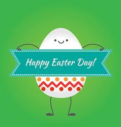 Happy easter happy eggs in eps vector