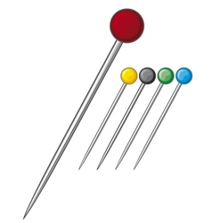 Sewing pins collection vector