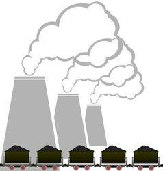 Coal industry 2 vector