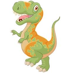Cartoon tyrannosaurus vector