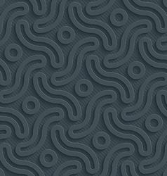Dark perforated paper vector