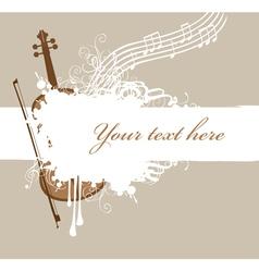 Background violin vector