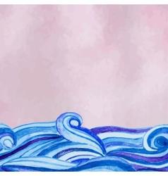 Watercolour background vector