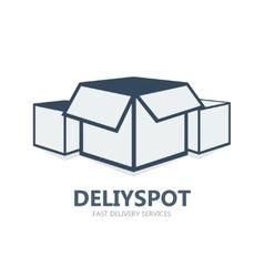 Box logo or symbol icon vector