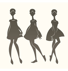Cartoon fashion vector