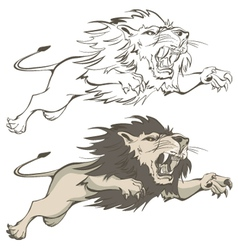 Invincible lion vector