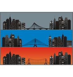 City set color vector