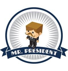 President vector
