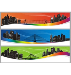 City set color abs vector
