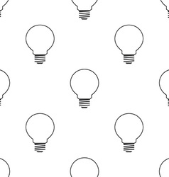 Idea symbol seamless pattern vector