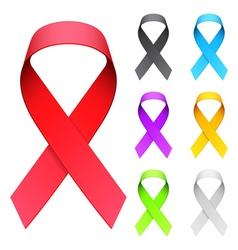 Aids ribbon vector