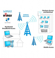 Wimax network vector