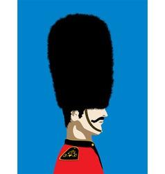 England royal guard vector