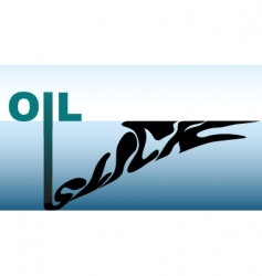 Oil slick vector