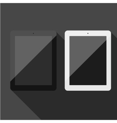 Realistic tablet pc vector