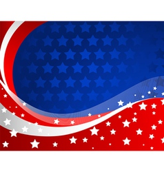 American background vector