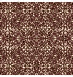 Vintage seamless floral pattern vector