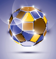 Dimensional sparkling mirror ball abstract gala vector