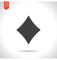 Game rhombus icon eps10 vector